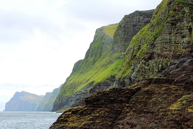 Faroe Islands Cliff